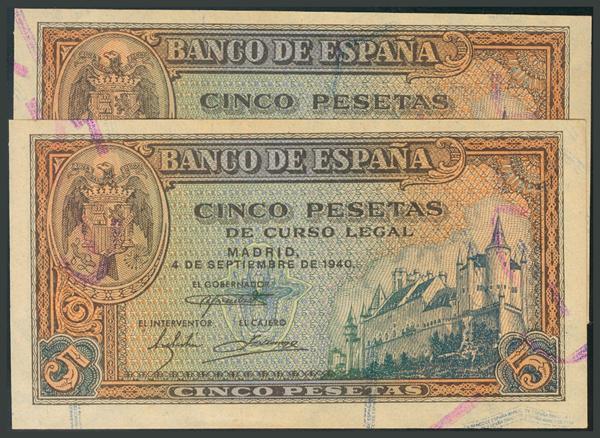 119 - Billetes Españoles