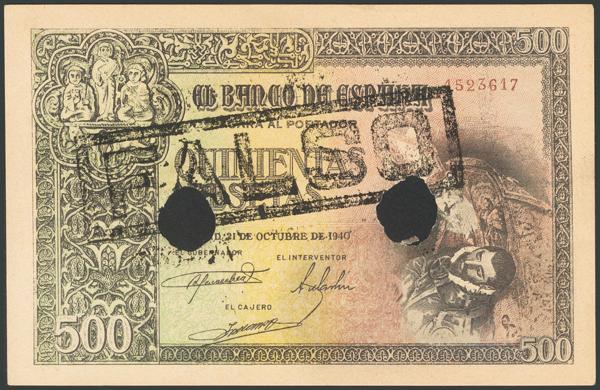 121 - Billetes Españoles