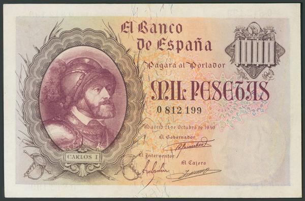 122 - Billetes Españoles
