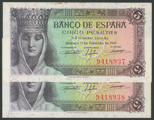125 - Billetes Españoles