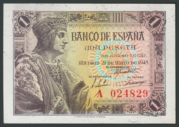 128 - Billetes Españoles