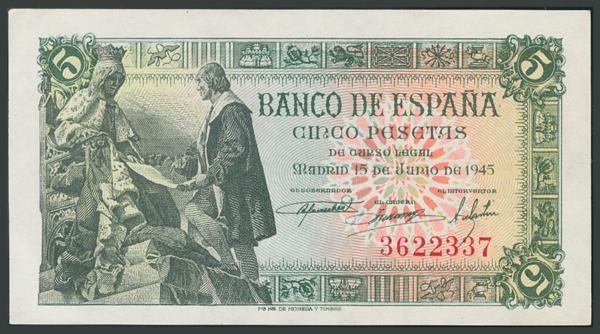 132 - Billetes Españoles
