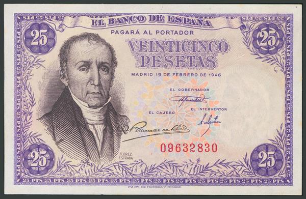 135 - Billetes Españoles