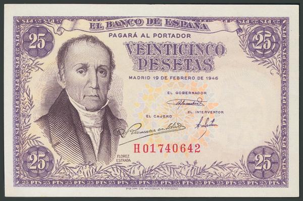 136 - Billetes Españoles