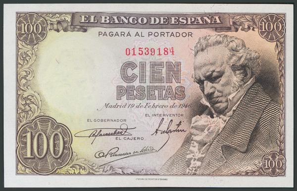 138 - Billetes Españoles