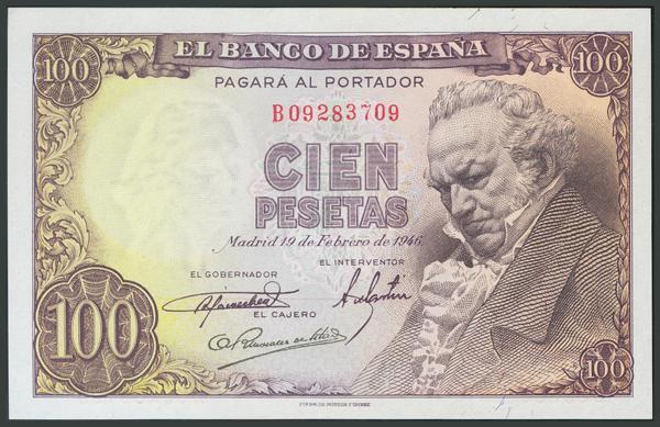 139 - Billetes Españoles