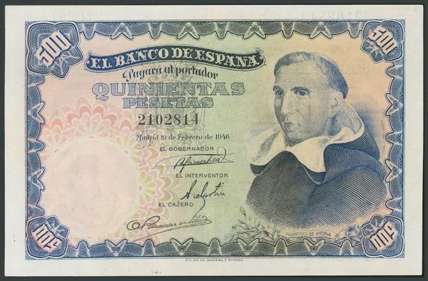 140 - Billetes Españoles
