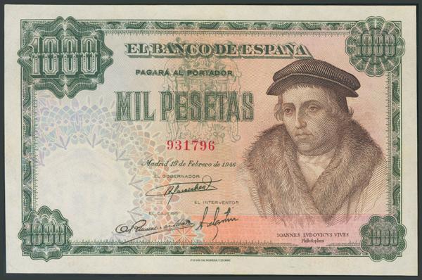 142 - Billetes Españoles