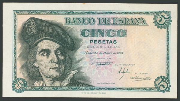 145 - Billetes Españoles