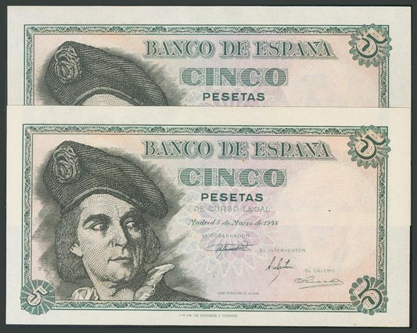 146 - Billetes Españoles