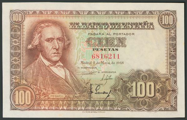 147 - Billetes Españoles