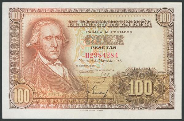 148 - Billetes Españoles