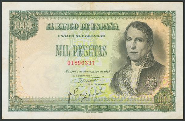 152 - Billetes Españoles