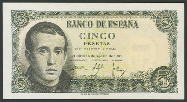 153 - Billetes Españoles
