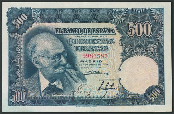 154 - Billetes Españoles