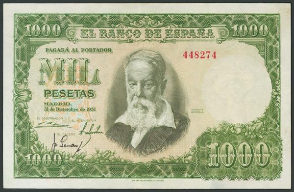 158 - Billetes Españoles