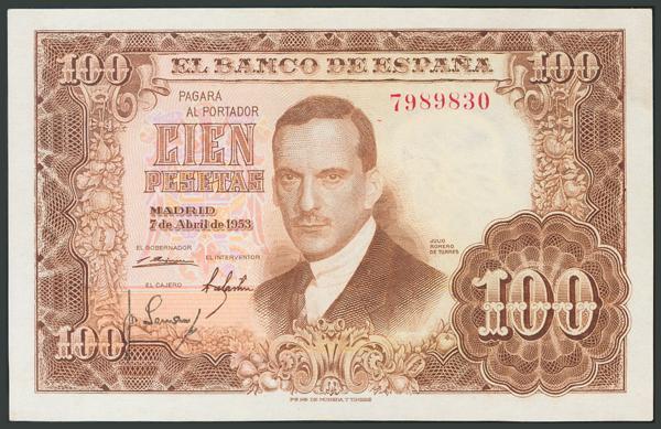160 - Billetes Españoles