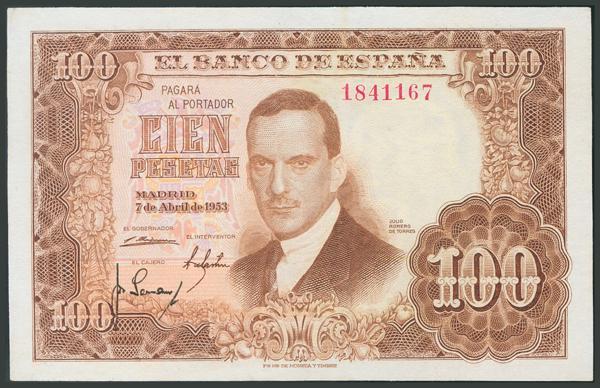 161 - Billetes Españoles