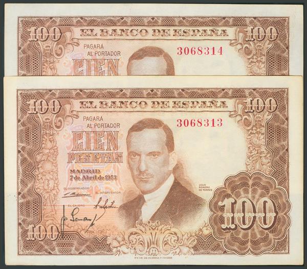 162 - Billetes Españoles