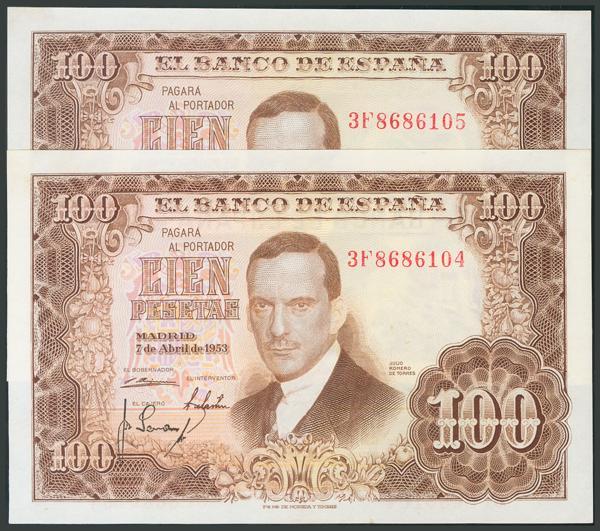 163 - Billetes Españoles