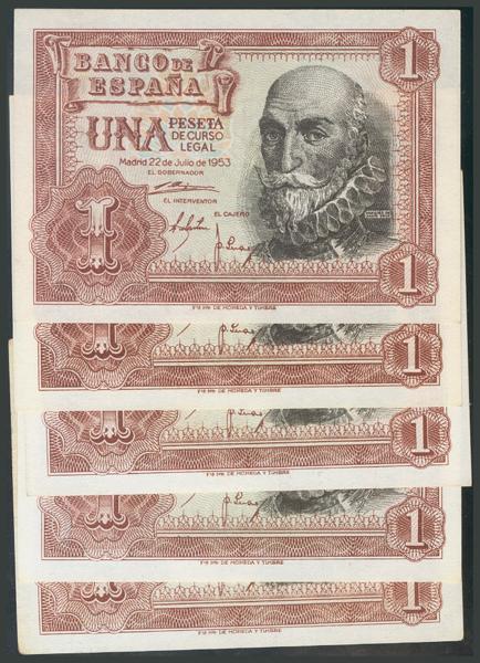 166 - Billetes Españoles