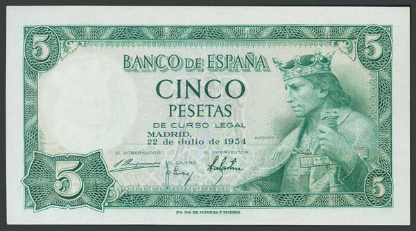 167 - Billetes Españoles