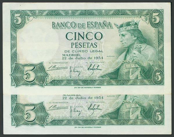 168 - Billetes Españoles