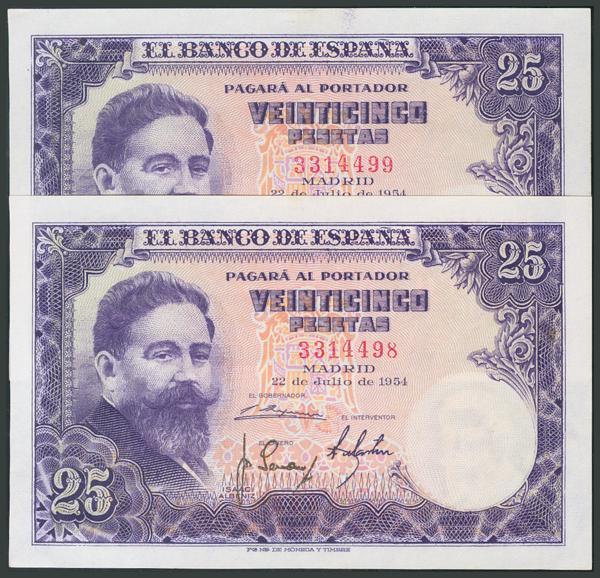 170 - Billetes Españoles