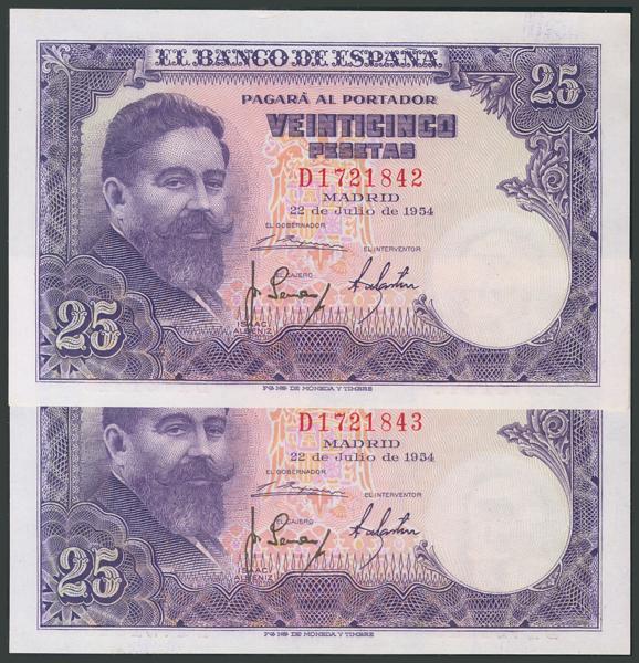 171 - Billetes Españoles