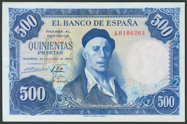 172 - Billetes Españoles