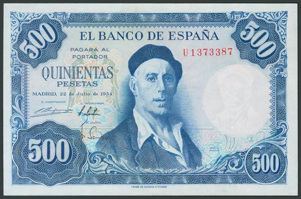 173 - Billetes Españoles