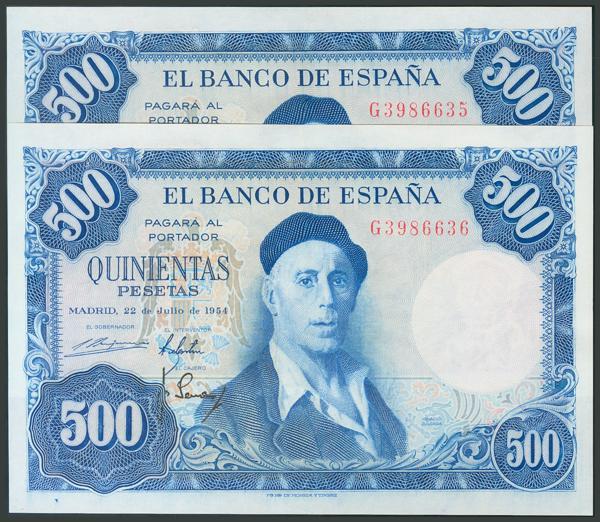 174 - Billetes Españoles