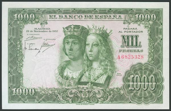 175 - Billetes Españoles