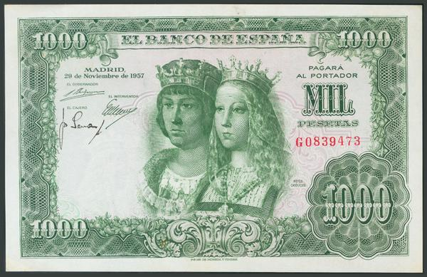 176 - Billetes Españoles