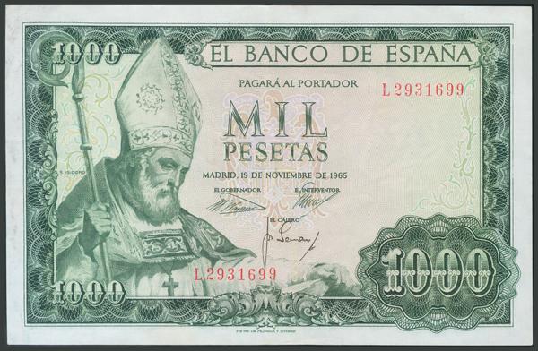 180 - Billetes Españoles