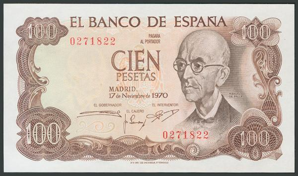 182 - Billetes Españoles