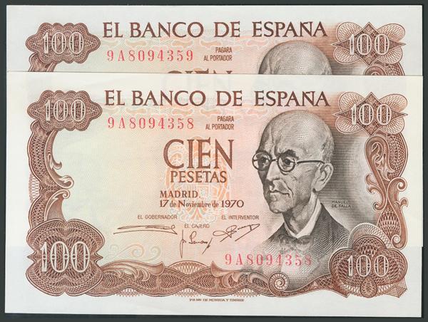 184 - Billetes Españoles