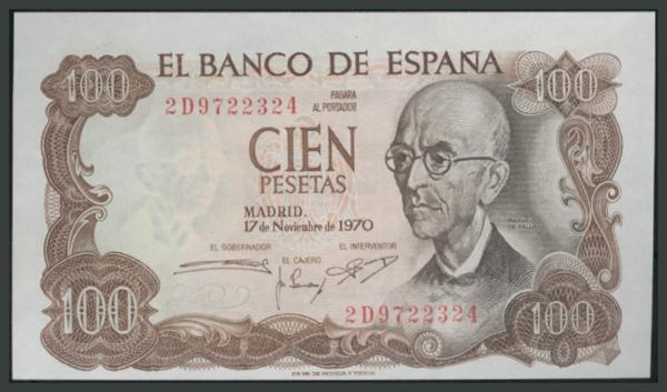 186 - Billetes Españoles