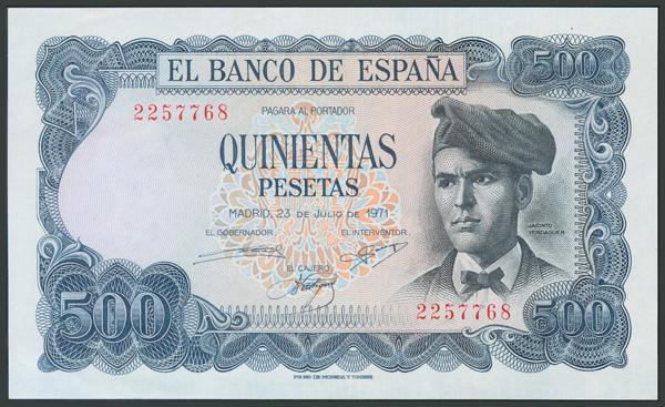 187 - Billetes Españoles