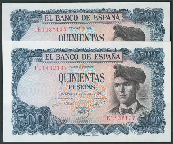 188 - Billetes Españoles