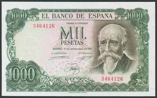 190 - Billetes Españoles