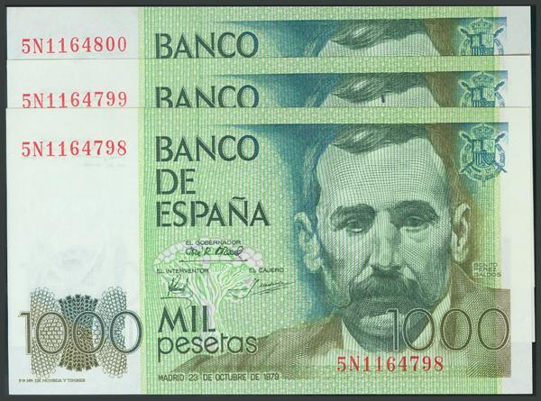 194 - Billetes Españoles