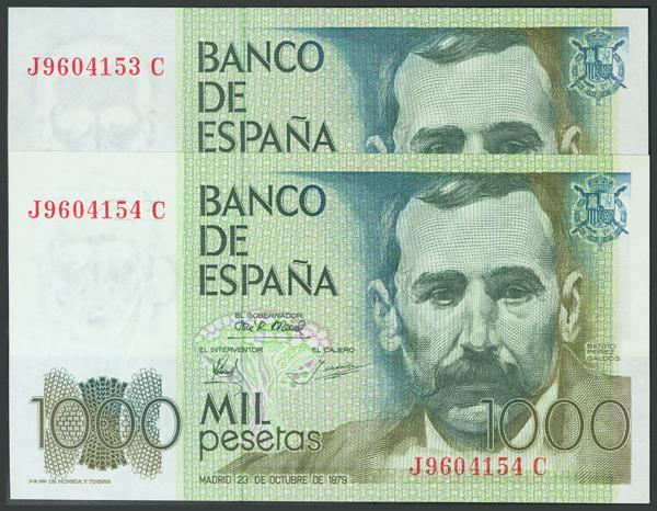 195 - Billetes Españoles