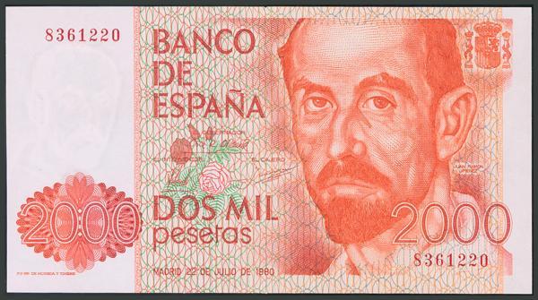 201 - Billetes Españoles