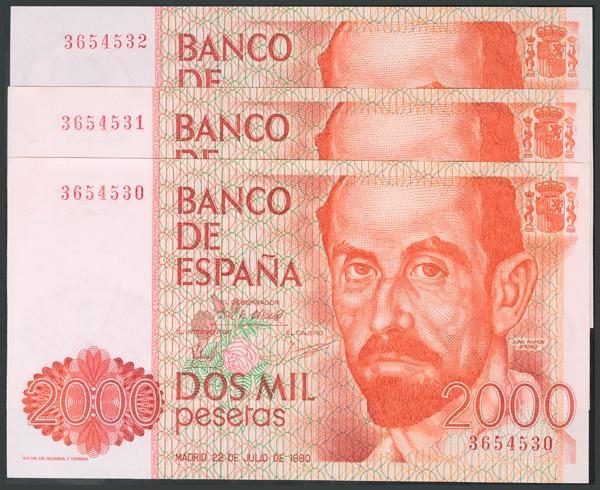 202 - Billetes Españoles