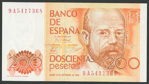 203 - Billetes Españoles