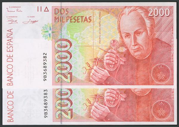 213 - Billetes Españoles