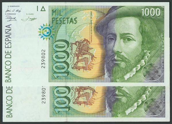 215 - Billetes Españoles