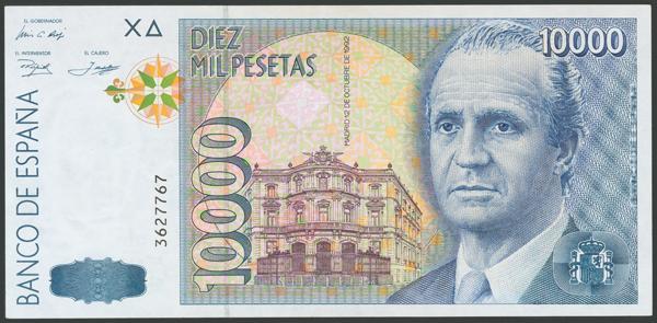 219 - Billetes Españoles