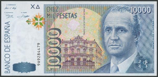 222 - Billetes Españoles
